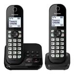 Panasonic KX-TGC 462 GB Schnurloses-Telefon schwarz