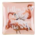 Gift Company Glasschälchen Follow your dreams rosa