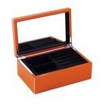 Gift Company Schmuckkasten XS orange mit Spiegel