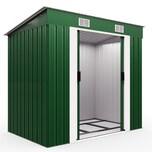 Deuba L Gerätehaus mit Fundament Kantenschutz