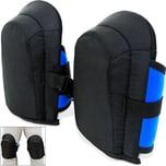 Gel-Knieschoner in Unigröße mit elastischen Stoffriemen - gem. DIN EN 14404