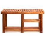 Deuba Schuhregal Akazie Holz