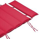 Detex Liegenauflage wasserabweisend Rot