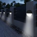 Deuba 6x LED Solarleuchte Wasserdicht