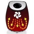 Monzana Heißluftfritteuse Energiesparend Cool-Touch Gehäuse