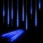 Monzana Diamantenregen Lichterkette blau