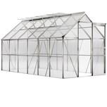 Deuba Aluminium Gewächshaus 7,2m² Treibhaus Garten Frühbeet