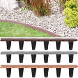 Deuba Rasenkante/Beeteinfassung 4x 15,2m - grau