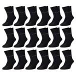 18 Paar Pierre Cardin® Herren Business-Socken Schwarz - 39/42