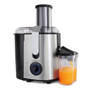 Monzana Entsafter für Obst+Gemüse aus Edelstahl 1100 Watt