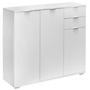 Deuba Kommode Sideboard Alba DB161 Weiß