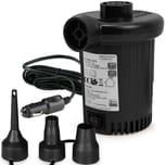 Deuba Elektrische Luftpumpe 12 V, 580l/min, 90W + 3 Adapter