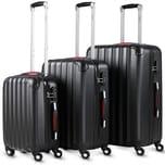 Monzana 3er Set Koffer Baseline Reisekoffer M / L / XL
