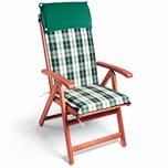 Detex 6x Stuhlauflage Vanamo Wasserabweisend Grün-Weiß