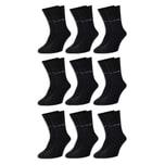 9 Paar Pierre Cardin® Herren Business-Socken - Schwarz - 43/46