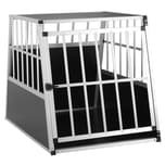 Cadoca Hundetransportbox aus Aluminium - L