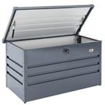 Gardebruk Metall Auflagenbox 360L abschließbar Kissenbox Gartentruhe Gerätebox