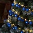Lichterkette Weihnachtskugeln Weihnachtsbeleuchtung Kugeln batteriebetrieben 2m Timerfunktion 8 Lichtereffekte