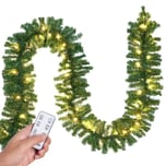 Casaria Weihnachtsgirlande 5m 100 LED's