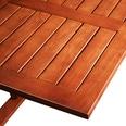 Casaria Balkontisch Hängetisch Balkon klappbar Akazie Holz
