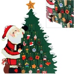 Adventskalender als Weihnachtsmann