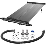 Monzana Solarheizung 116x66cm Höhenverstellbar 6200L/h Durchflussmenge Sonnenkollektor Pool Heizung