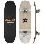 Deuba Skateboard mit ABEC 9 und PU Rollen in orange