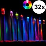 monzana 32 Stück LED Solarleuchte