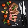Deuba Steakbesteck Set Steakmesser Steakgabel Edelstahl inkl. Box - 24 tlg
