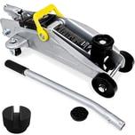 hochwertiger Wagenheber 2T inkl Koffer + Gummiauflage Stahlverstärkung