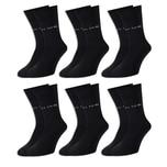 6 Paar Pierre Cardin® Herren Business-Socken - Schwarz - 43/46