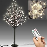 Deuba Kirschblütenbaum mit 200LEDs, 180cm Länge für In/Outdoor Betrieb