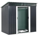 Gardebruk Gerätehaus mit Fundament Kantenschutz