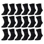 18 Paar Pierre Cardin® Herren Business-Socken - Schwarz - 43/46