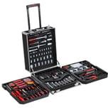 Monzana Werkzeugkoffer XXL gefüllt Set 899tlg