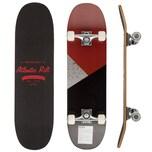 Deuba Skateboard mit ABEC 9 und PU Rollen in grau