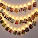 Monzana Lichterkette mit FotoClips Julelys inkl. Fernbedienung