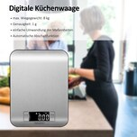 Monzana Küchenwaage Digital LCD Display Zuwiegefunktion
