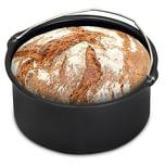 Monzana Brotbackkorb für Heißluftfritteuse Antihaftbeschichtung