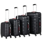 Monzana 4er Set Koffer Baseline S / M / L / XL