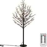 Deuba Kirschblütenbaum LED 220cm Fernbedienung