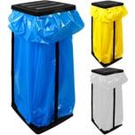 Deuba 3 Müllsackständer für Müllsäcke bis max. 60 LITER - 70 x 35 x 30cm