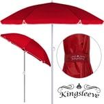 Deuba Sonnenschirm wasserabweisend rot 180cm