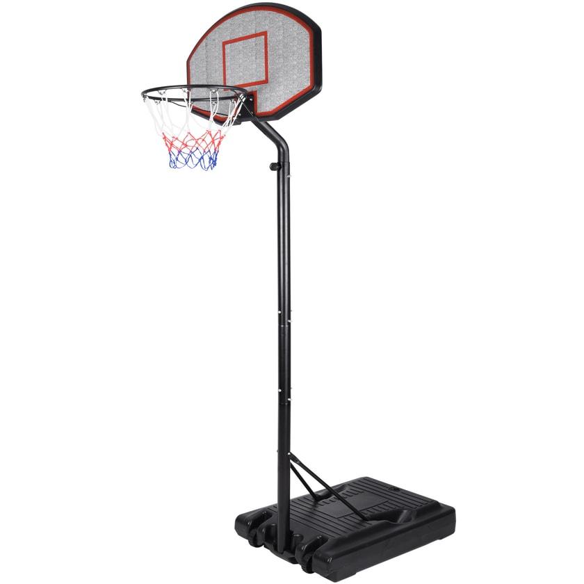 Deuba Mobiler Basketballkorb mit Rollen- Höhe max. 305cm