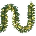 Casaria Outdoor Weihnachtsgirlande 5m