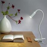 Monzana LED Schreibtischlampe USB Klemmleuchte