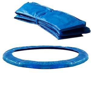 Monzana Trampolin Abdeckung Ø 183 cm in blau