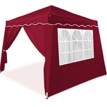 Deuba Pavillon 3x3m inkl. 4x Seitenwand +50 UV-Schutz