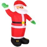 Monzana Weihnachtsmann mit Beleuchtung XXL aufblasbar