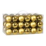 Casaria Weihnachtskugeln gold 54-teilig